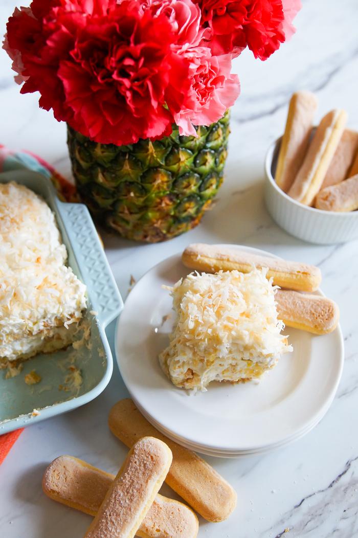 Pineapple Cream Tiramisu