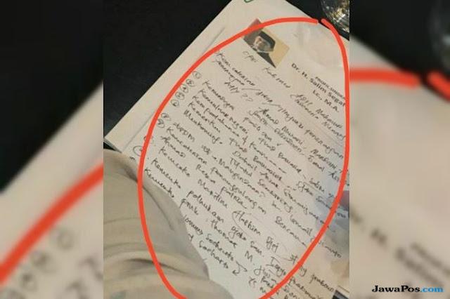 Nama-nama Menteri Kabinet Adil Makmur Beredar, Gerindra: Itu Hoaks