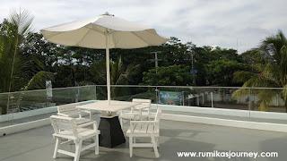 rooftop di le semar hotel serang