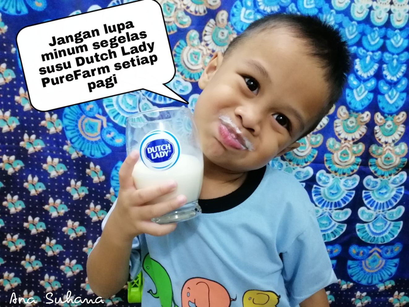 Susu Dutch Lady PureFarm Pelengkap Permulaan Hari Yang Kuat
