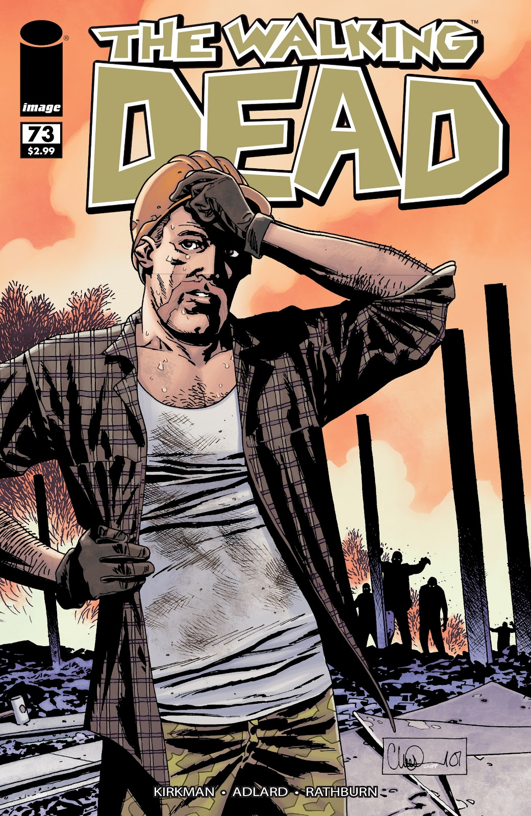 The Walking Dead issue 73 - Page 1