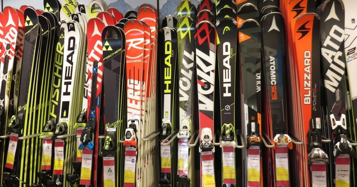Online Škola skijanja tipovi skija