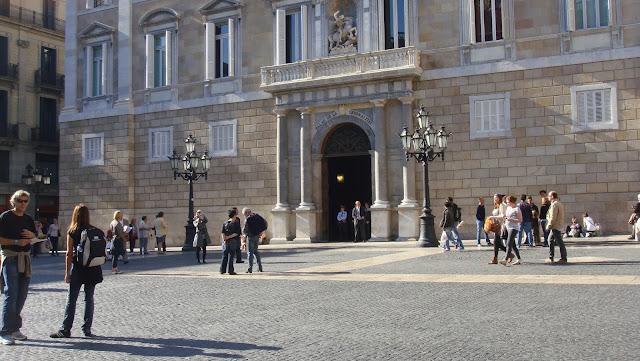 Plaça de Sant Jaume, Barcelona