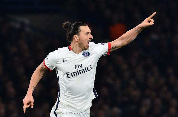 Le but de Zlatan Ibrahimovic offre la victoire au PSG face à Chelsea et la qualification parisienne en Ligue des Champions