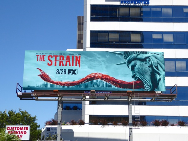 Strain season 3 Statue of Liberty billboard