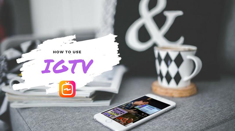 using IGTV content creator