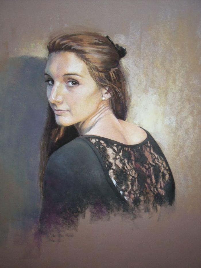 Бельгийский художник. Andree Bienfait
