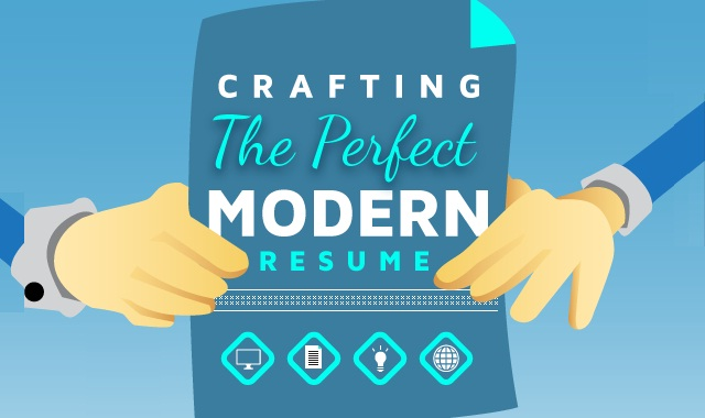 Image: Crafting The Perfect Modern Resume #infographic