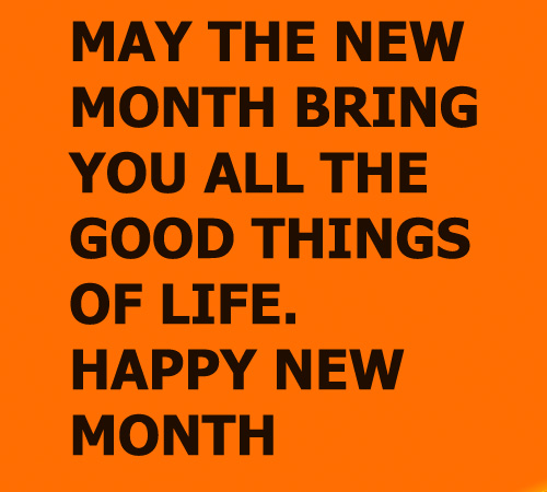 #HappyNewMonth: Month of healthy living and surprises
