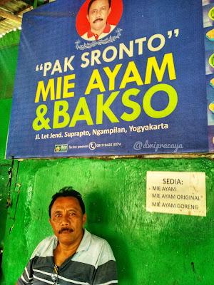 Mie Ayam & Bakso Pak Sronto Ngampilan Jogjakarta