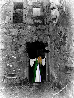 green lady of stirling, ghost, ghost stories, Scotland, legends, Blue Bells of Scotland