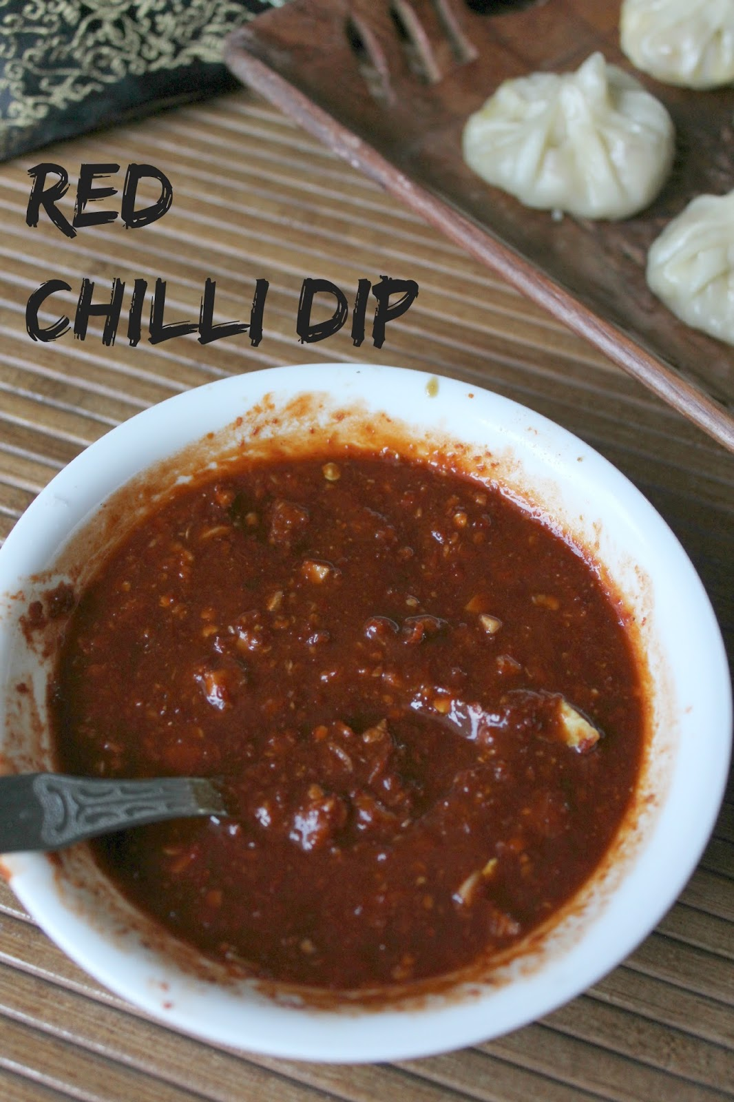 red chilli dip