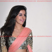Gorgeous Isha Talwar Latest Sizzling Stills in Transparent Saree