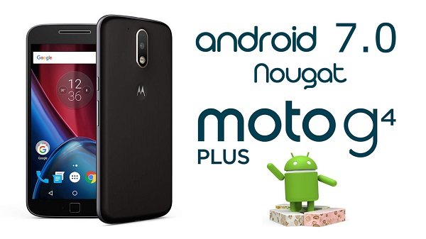 MOTO G4 ANDROID NOUGAT OFICIAL