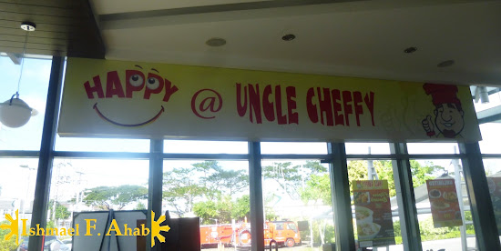 Uncle Cheffy at Nuvali Park