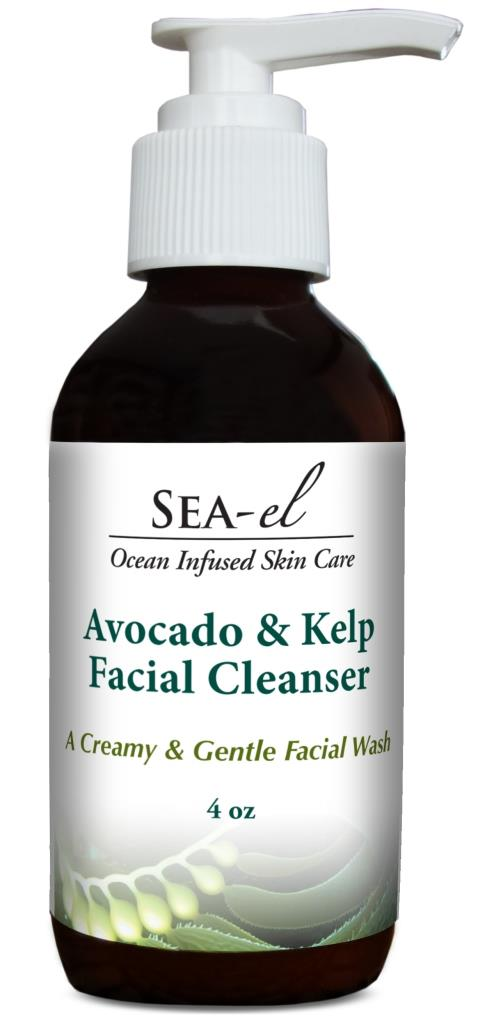 Sea inspired Skin Care Sea-el Avocado & Kelp Facial Cleanser