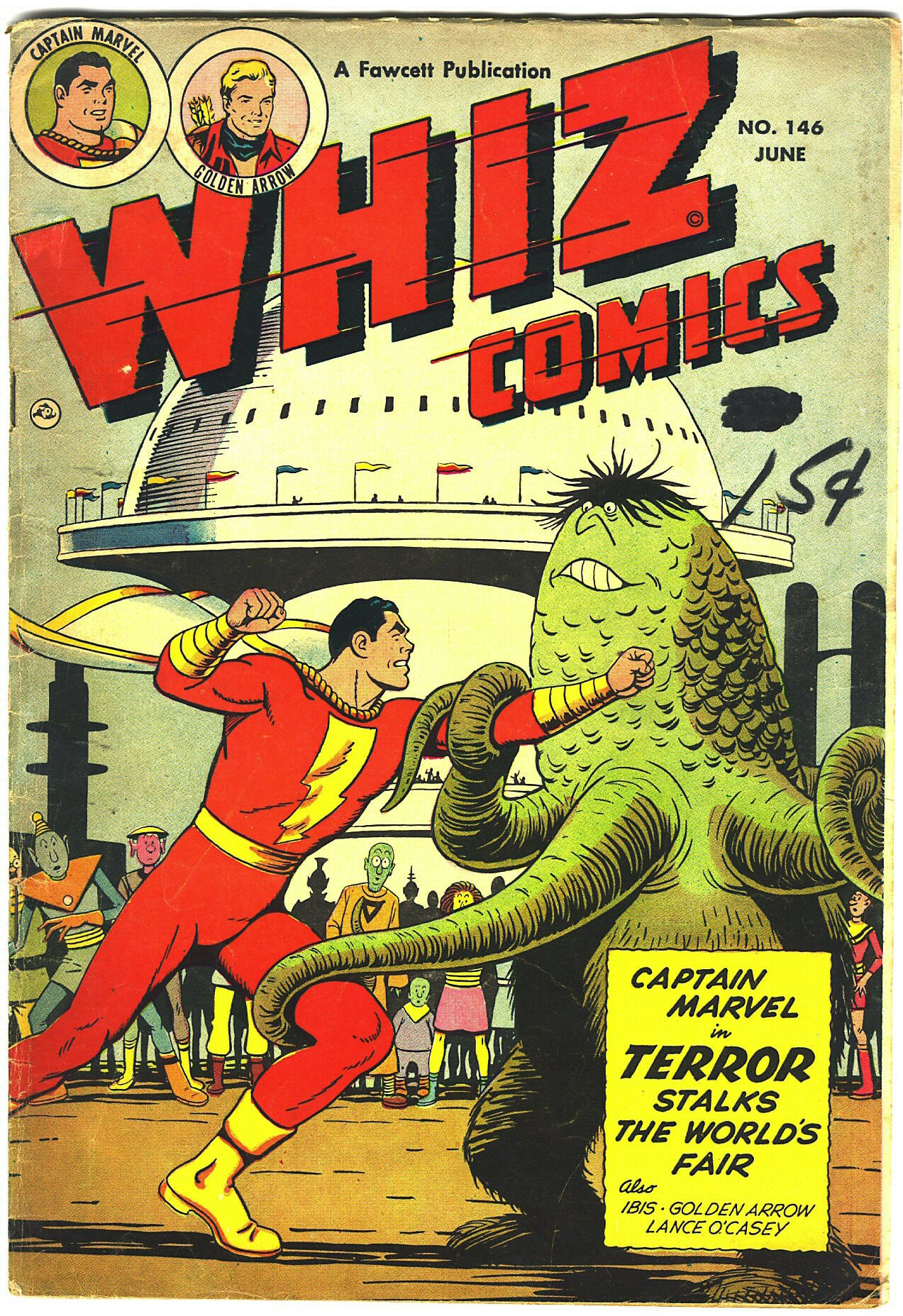 WHIZ Comics issue 146 - Page 1