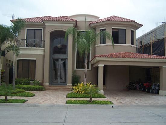 Fachadas de casas modernas y lujosas cocinas modernas for Fachadas casas 2 pisos modernas