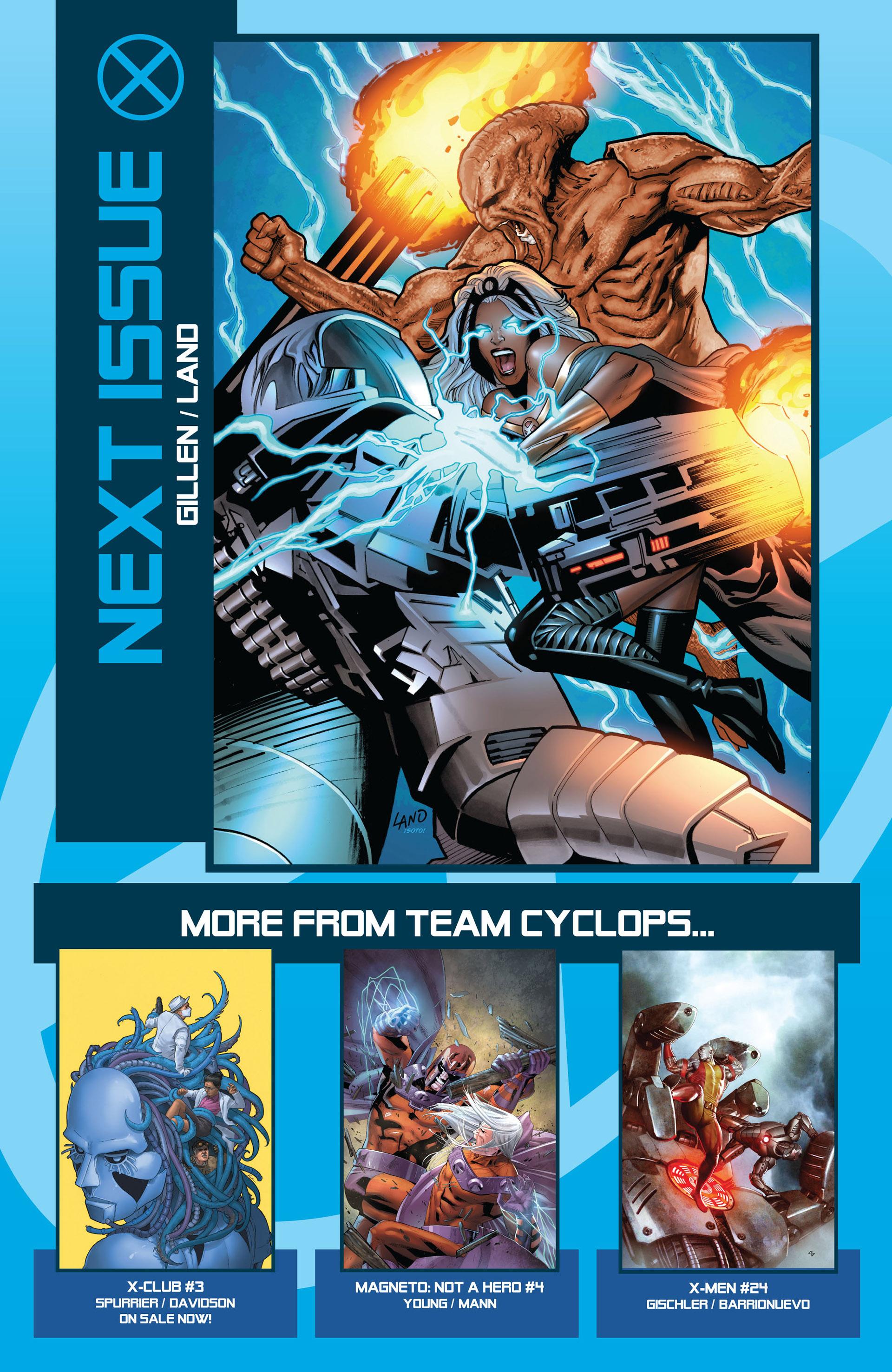 Read online Uncanny X-Men (2012) comic -  Issue #6 - 23