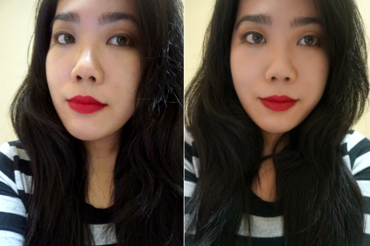 Lip Swatch: WET N WILD Mega Last Matte Lip Cover in Cherry Picking
