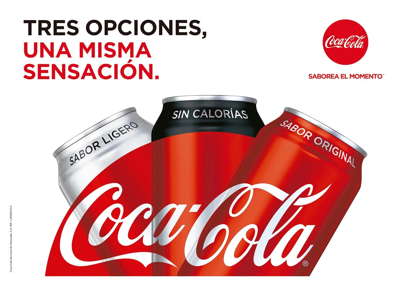 Coca-Cola Sin Calorías