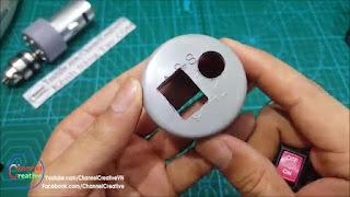 membuat sendiri mesin bor mini torsi besar dari dinamo 12v