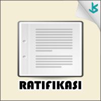 Ratifikasi Perjanjian Internasional Peraturan Presiden Nomor 60 Tahun 2005