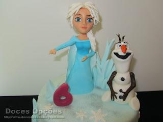 disney elsa olaf frozen cake