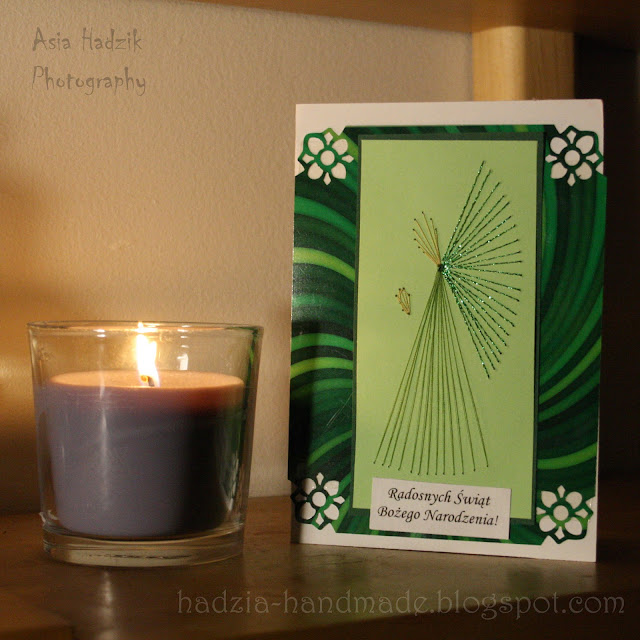 624. Zielone kartki bożonarodzeniowee