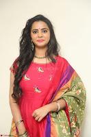 Manasa in Pink Salwar At Fashion Designer Son of Ladies Tailor Press Meet Pics ~  Exclusive 61.JPG