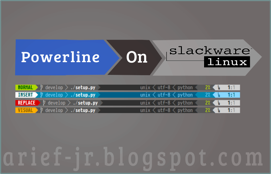 How To] Add Powerline In KDE Konsole With Slackware64-Current
