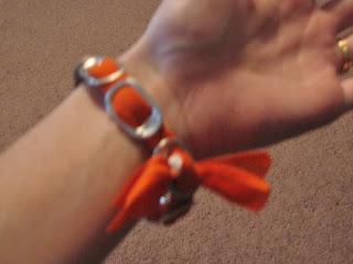 Aluminum Can Tab Bracelet