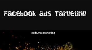 Social media marketing - Facebook ads targeting