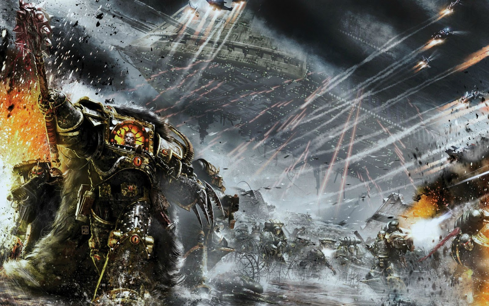 Horus Heresy Book Cover Art : The future of horus heresy faeit warhammer k