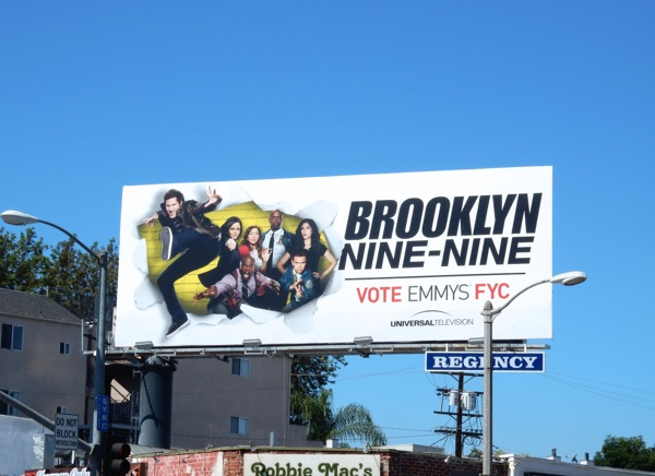 Brooklyn Nine Nine 2015 Emmy billboard