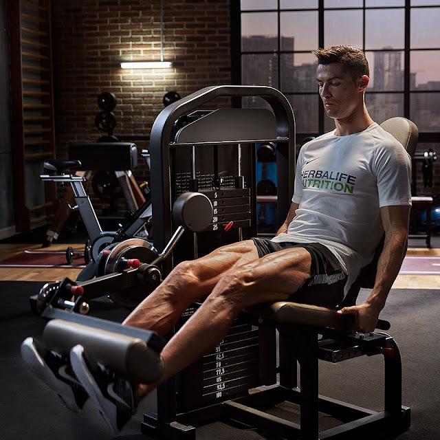 Cristiano Ronaldo Herbalife linha 24 horas