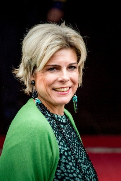Queen Maxima in Natan, Princess Mabel in Dodo Bar Or. Beatrix, Laurentien, Vincent Carelli, Ma Jun