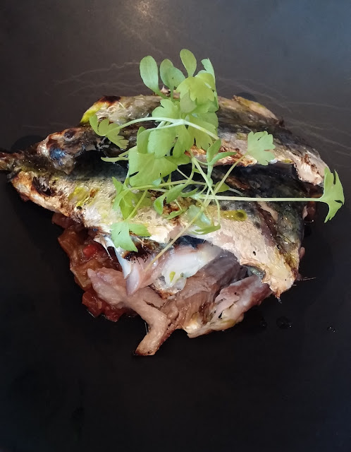 The Grand Richmond, Italian Yum Cha, Richmond, sardines