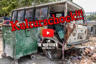 KULTURSCHOCK in INDIEN wir sind schockiert auf unserer Weltreise Müllprobleme und ungeahnte Kulturen Die Wegsucher Arkadijs WELTREISE.TV