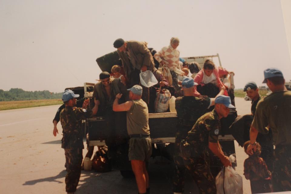 Srebrenicamassakern var forberedd