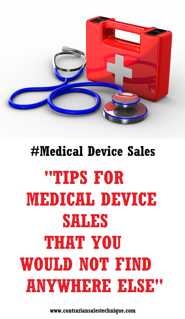 Tips for medical device sales nowhere else offer