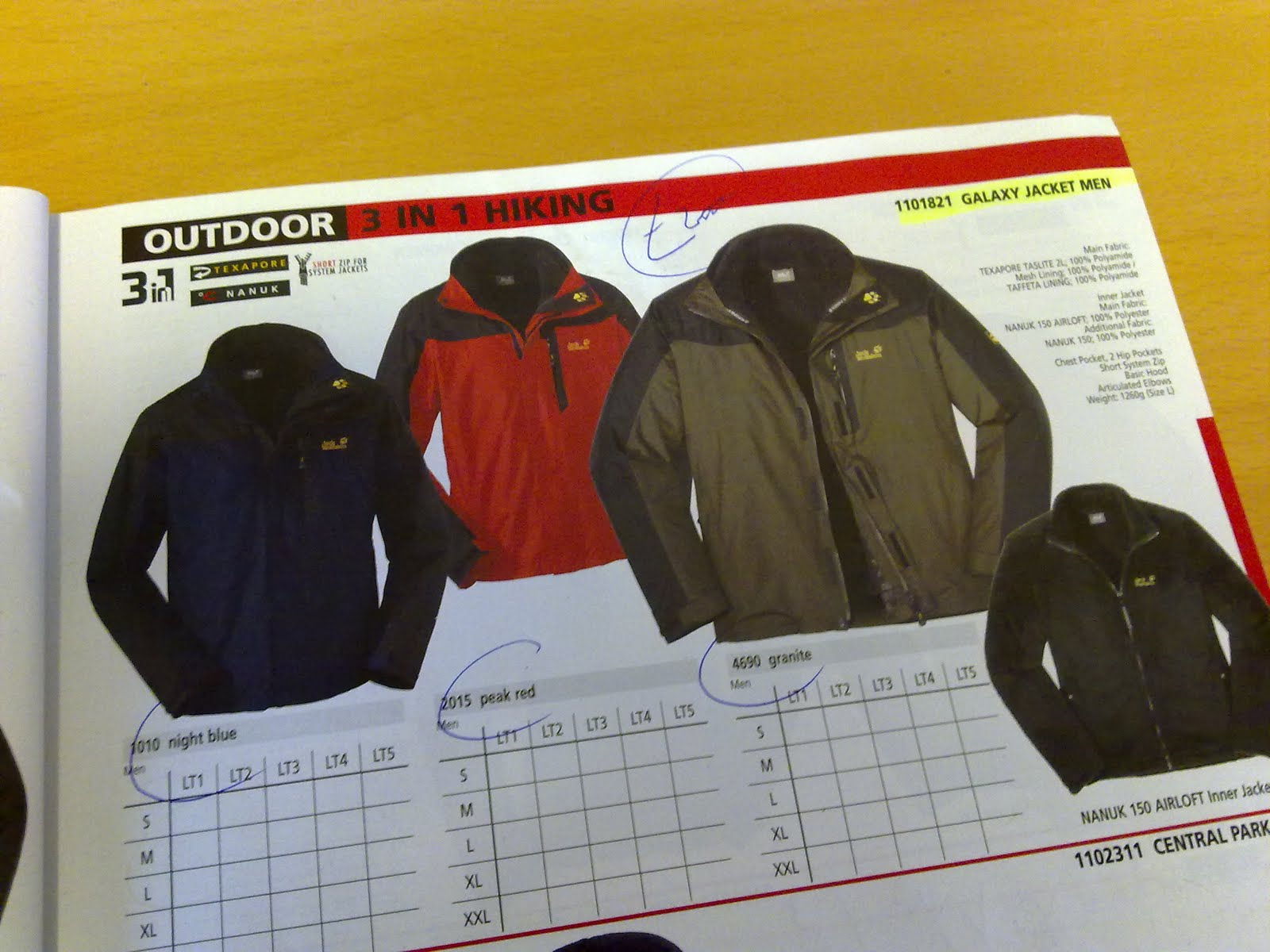 Outdoorkit: Sneak Preview #17: Jack Wolfskin Galaxy and