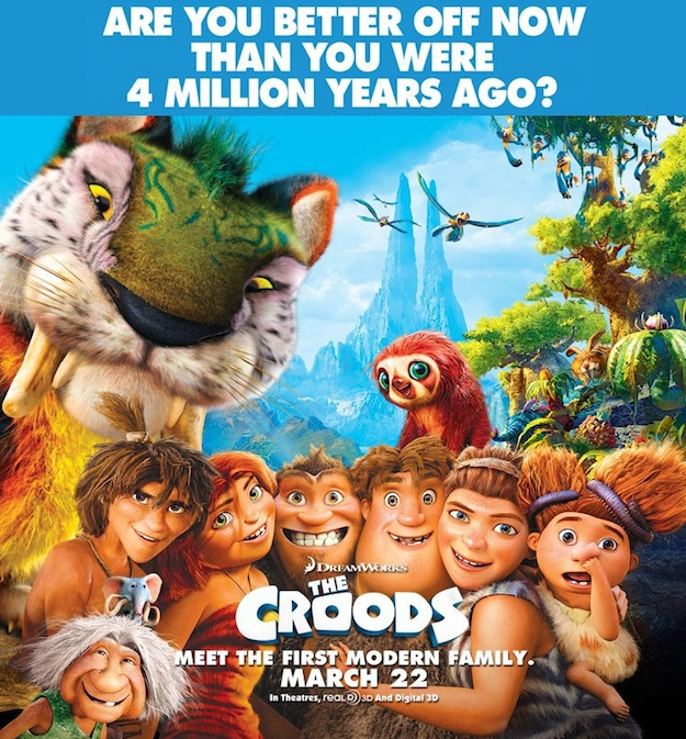 The Croods 2 Movie: The Croods 2 New Posters : Teaser Trailer