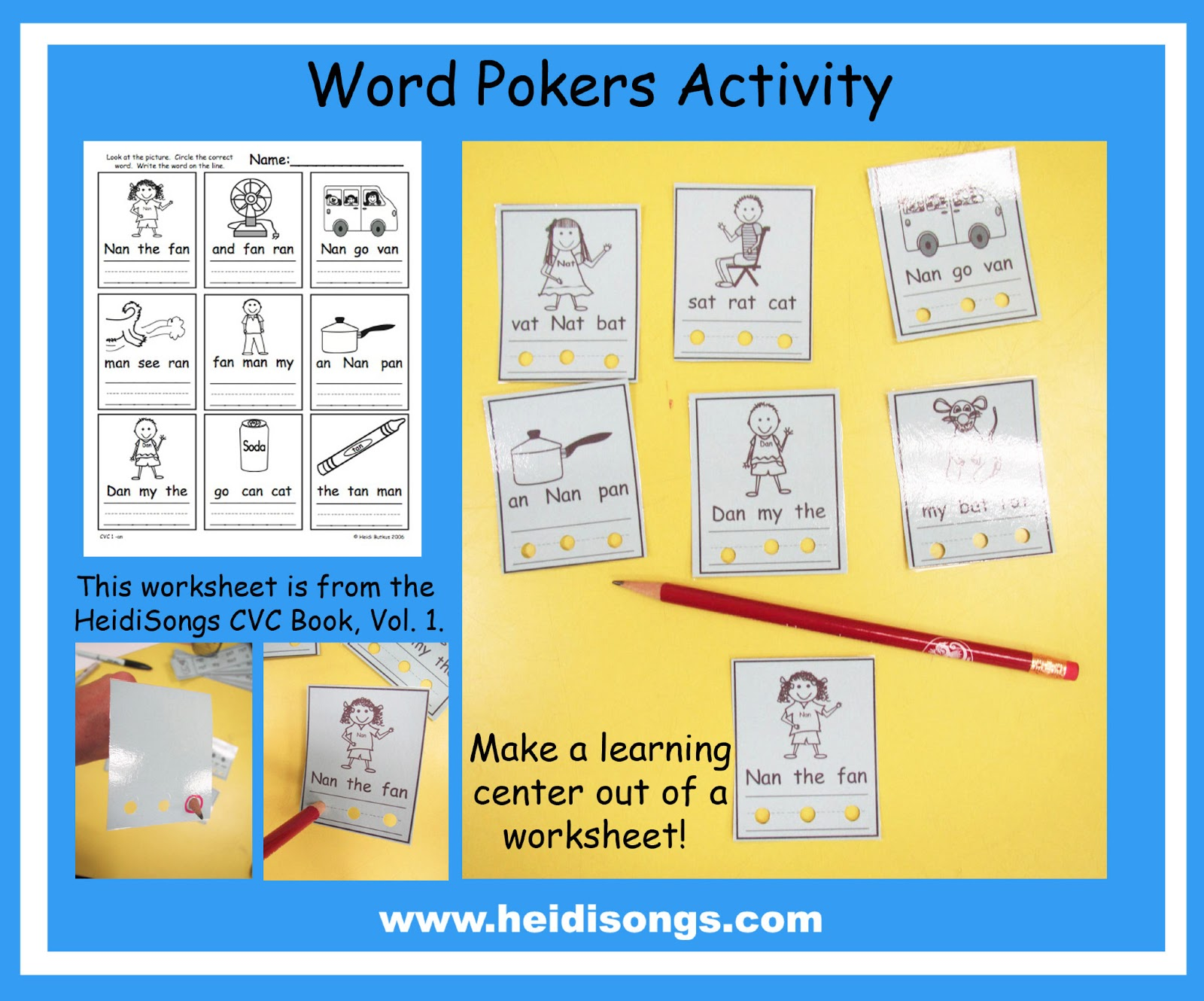 Prepping Fun Literacy Centers For First Grade Heidi Songs