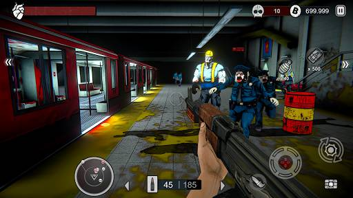 Download Zombie Conspiracy: Shooter Mod Apk Unlimited Money
