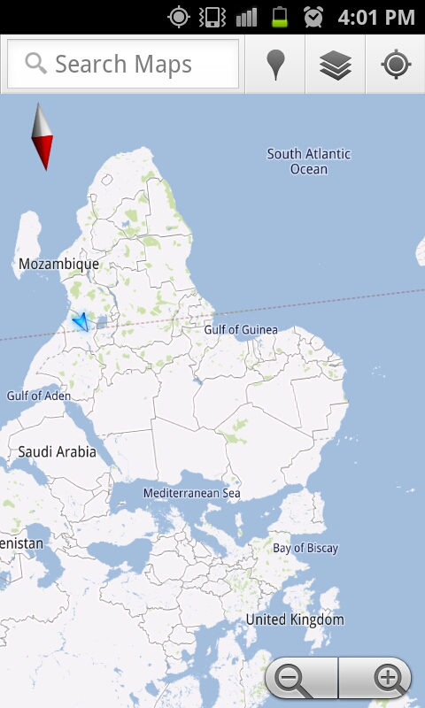 PR NTR KHET NTR/THE UPSIDE DOWN WORLD MAP OF MERITA/AFRICA - mdu ntr