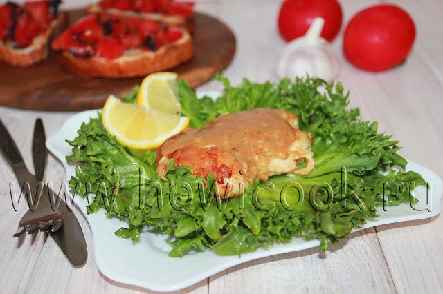 рецепт куриного филе в лимонном соусе
