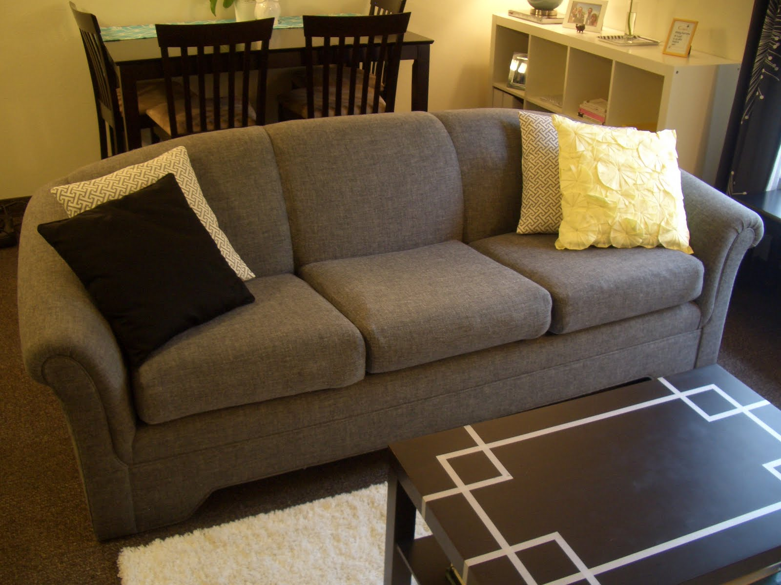 Whitney Kaye Styles Our New Old Couch