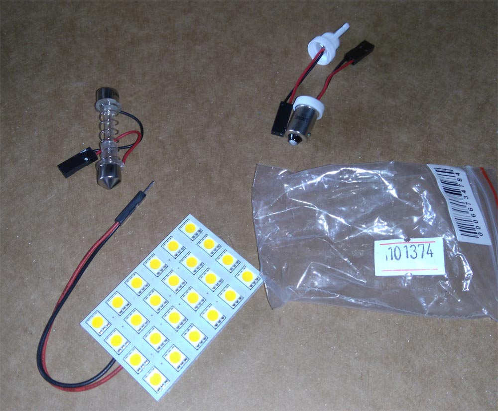 Toyota Previa Replacing Dome Light With A Led Variant Car Estima Fuse Box