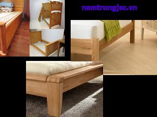 Chi tiết giường gỗ
